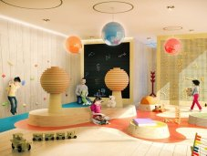 Brickell Flatiron playroom